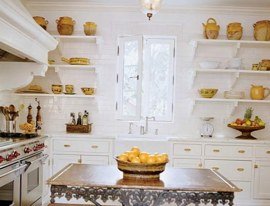 Open shelves in the kitchen-10