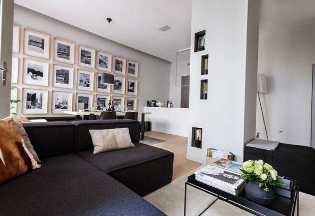 Parisian apartment with a cozy veranda-8