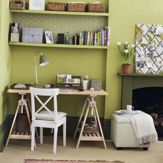 Several beautiful home offices-1