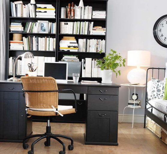Several beautiful home offices-11