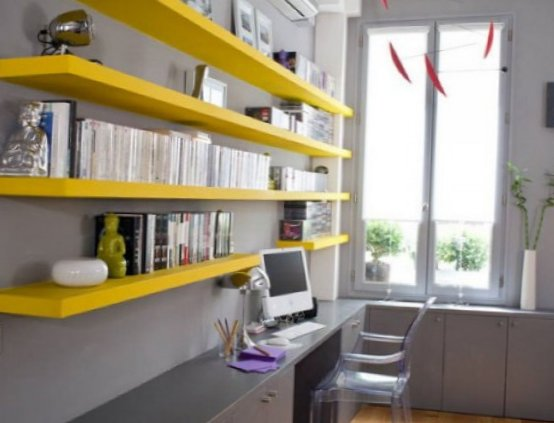 Several beautiful home offices-14