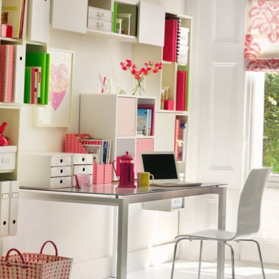 Several beautiful home offices-7