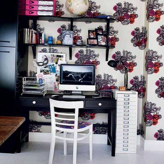 Several beautiful home offices-9