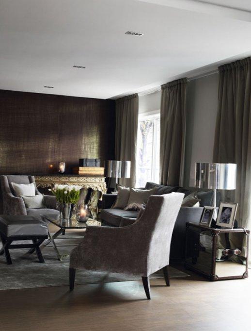 Stylish grey color in interior design in Norway 1