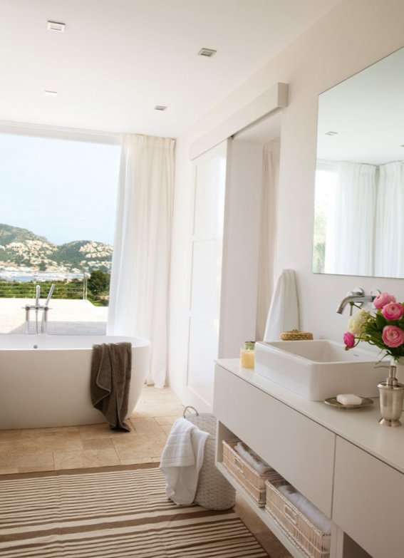 Sunny bathroom design-4