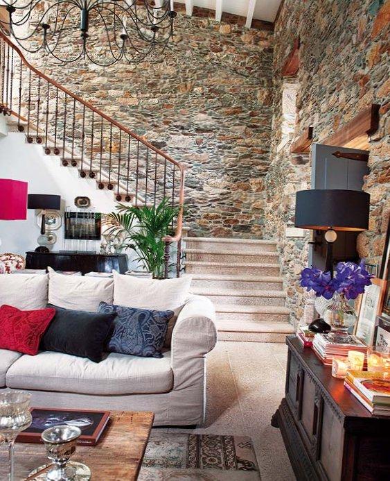 Wonderful stone interior in Spain-2