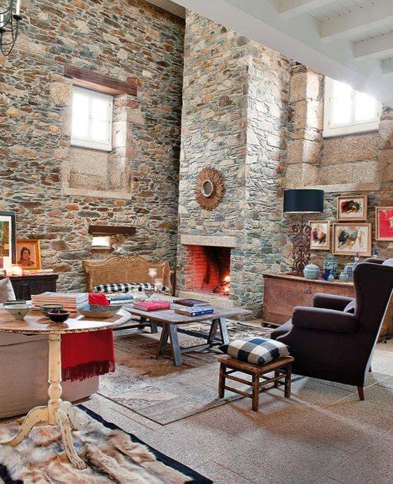 Wonderful stone interior in Spain-3