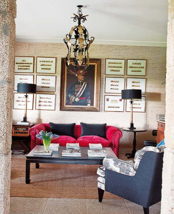 Wonderful stone interior in Spain-9