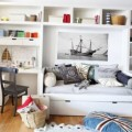 Beautiful kids room with sea concept 7
