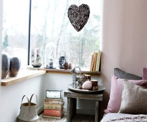 Copper and rose in Scandinavian design