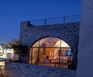 Comfortable apartment design in cave