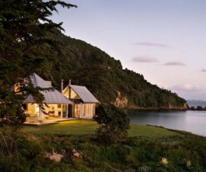 House by the sea in New Zealand