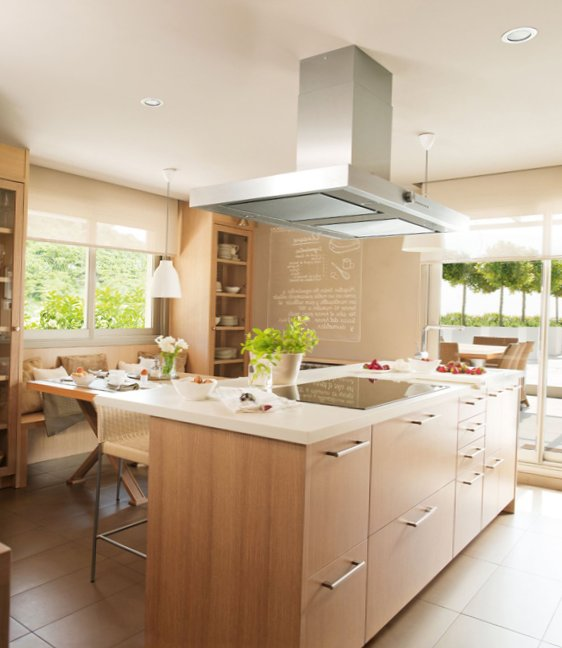Modern wooden kitchen design my sweet house for Sweet kitchen designs