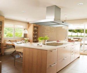 Modern wooden kitchen design