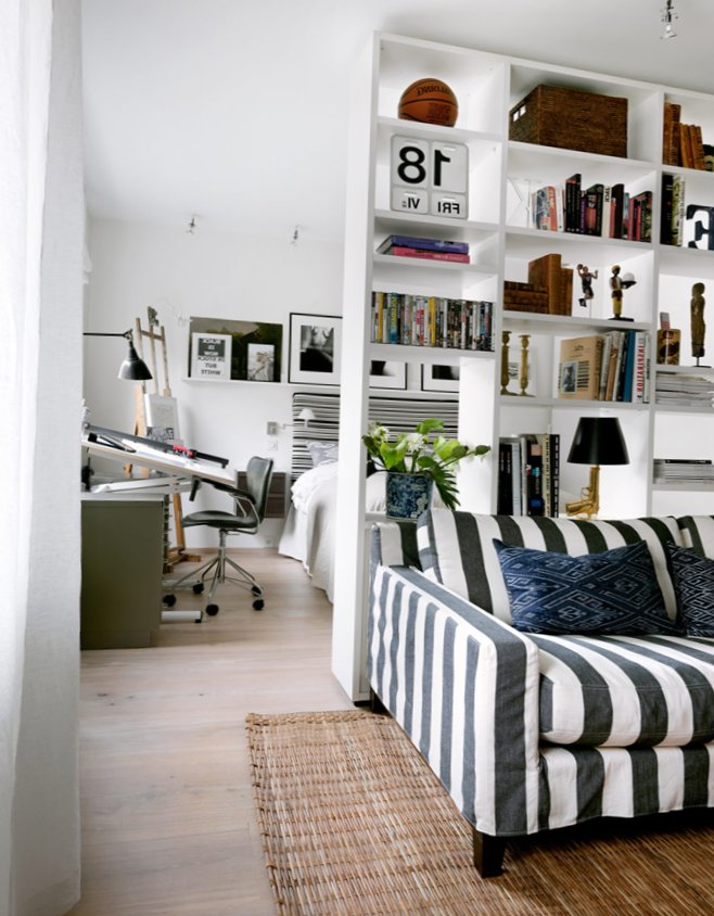 Open Space Of 45 Square Meters In Sweden My Sweet House