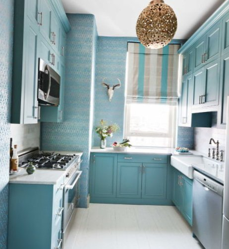 Small kitchen in new york city my sweet house - Home decor ideas for small homes ...