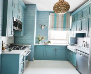 Small kitchen in new York city