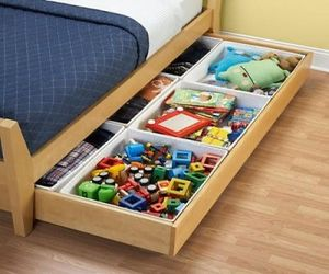 Storage for toys under the bed - thumbnail