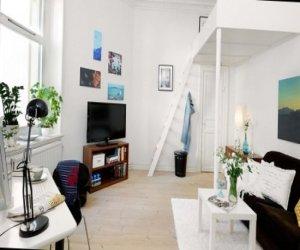 Sweet one bedroom apartment design-16 photos