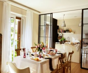 The cosy kitchen in Madrid