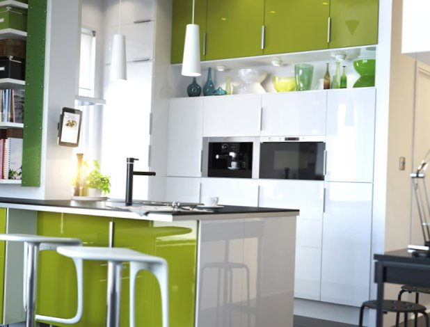 Bright kitchen color ideas couchable bright small kitchen - Bright kitchen paint ideas ...
