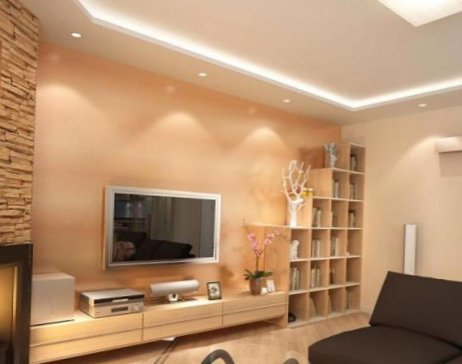 ceiling living rooms design-500x387