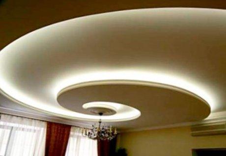 lighting in ceiling of living room10-500x336