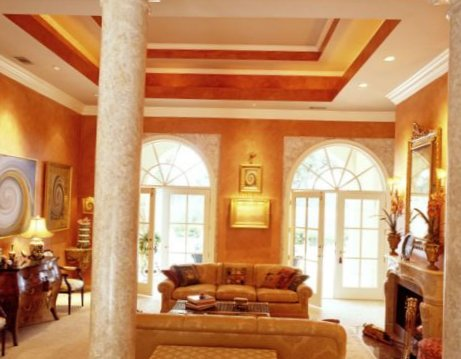 living room ceiling design 9