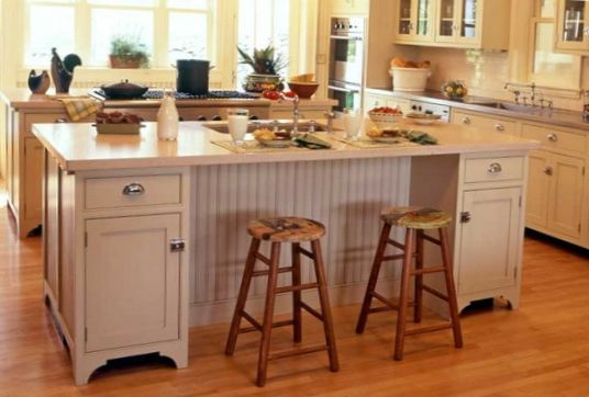 Classical Kitchen with Island Design 2