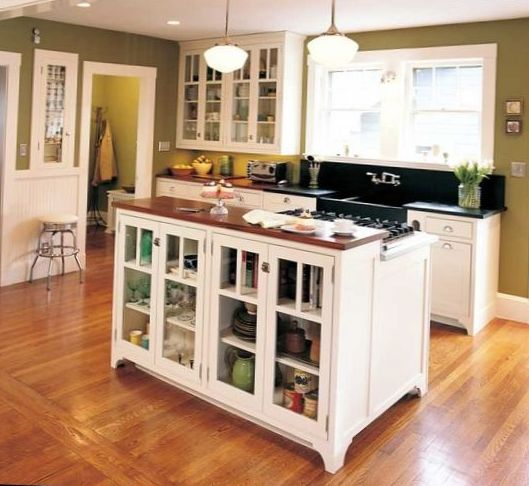 Classical Kitchen with Island Design 5