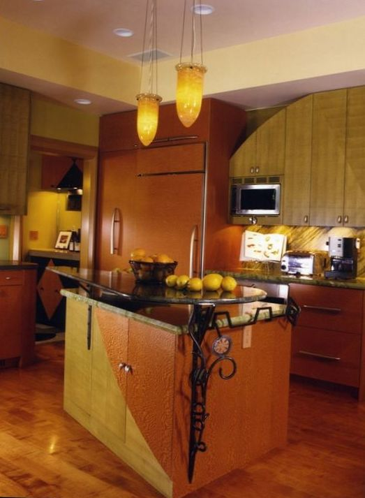 Classical Kitchen with Island Design 7