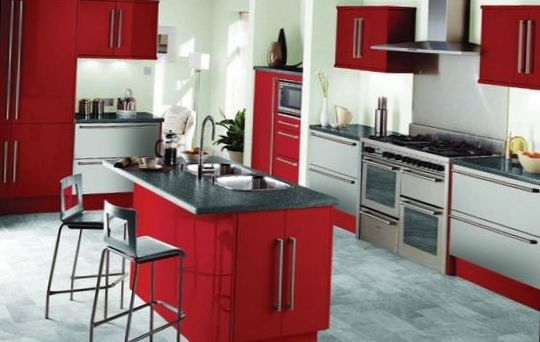 Classical Kitchen with Island Design 8