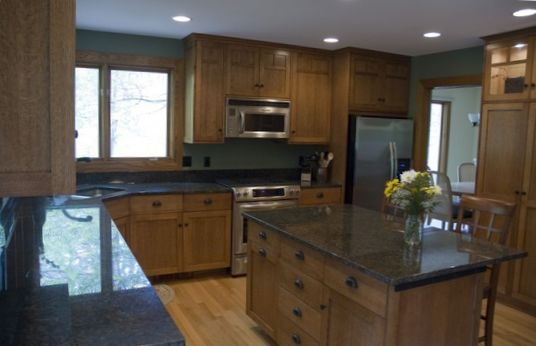 Kitchen with Island - Family Design  2