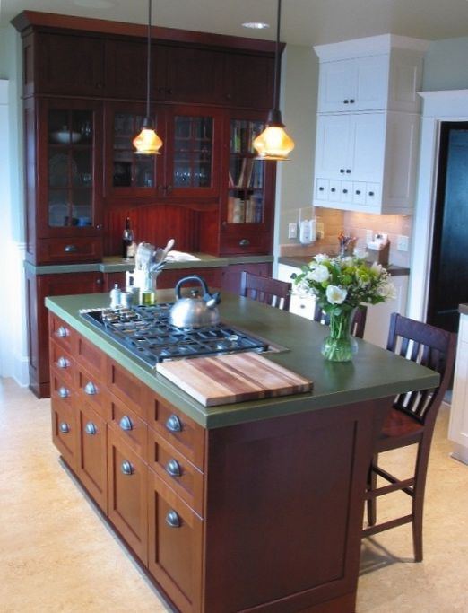 Kitchen with Island - Family Design  3