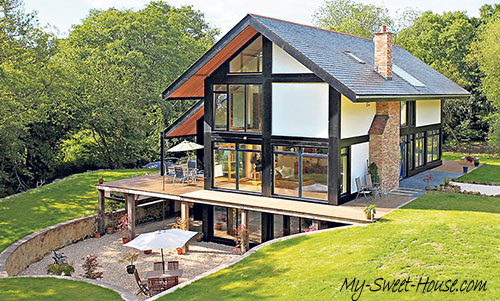 The way of constructing a green home