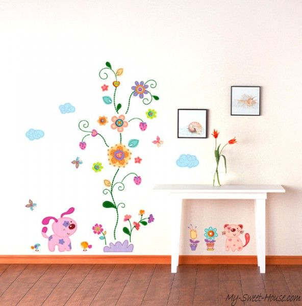Kids-Wall-Sticker-Flowers3