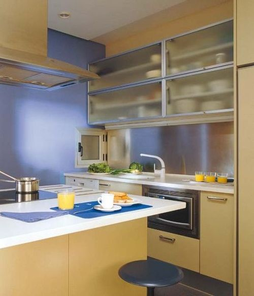 Small Kitchen Design: 22 Modern Space Saving Tips