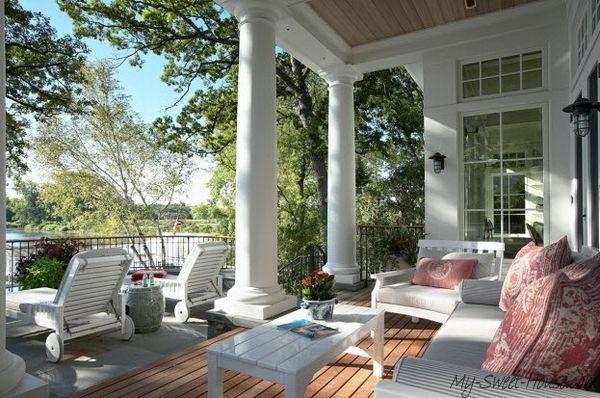 Veranda Design Tips And 70 Photos Of Decorating Ideas