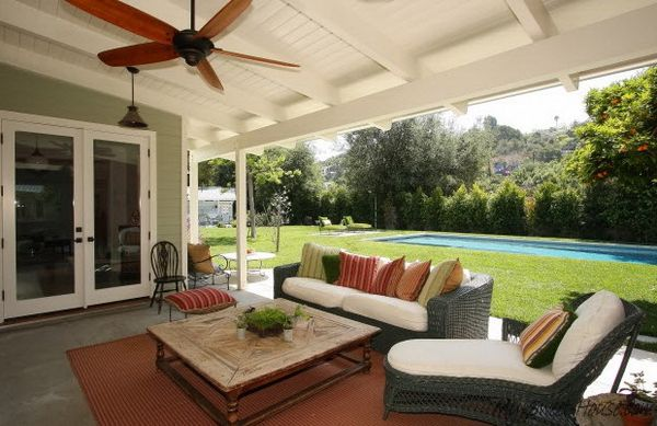 patio decorating ideas veranda design tips and 70 photos of decorating ideas 31620