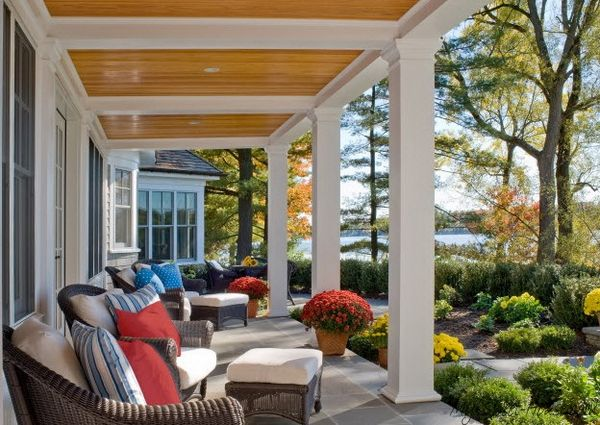 Veranda Design Tips And 70 Photos Of Decorating Ideas My Sweet House