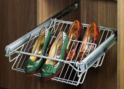 Pull out baskets for shoes