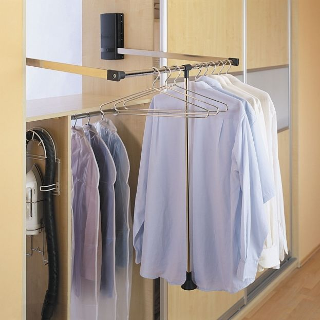 Wardrobe Pull Down Rails