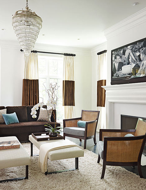white interior design with crystal idea 2
